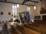 Musical Organ Moved In A Church Loft In Santa Rosa